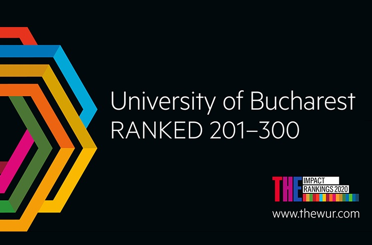 "Universitatea din București, prima poziție pe plan național în clasamentul ""2020 Times Higher Education University Impact Rankings"""